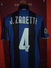 J.ZANETTI INTER 2008/2009 L MAGLIA SHIRT CALCIO FOOTBALL MAILLOT JERSEY SOCCER