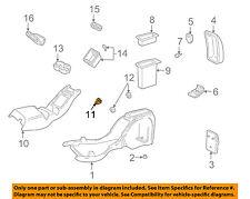 GM OEM Center Console-Trim Plate Retainer 12338108