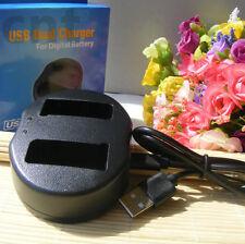 Battery USB Charger for Nikon EN-EL9 ENEL9a D3000 D5000 D60 D40x