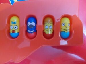 Mighty Beanz The Simpsons 4 Bean Lot #34 Maggie, #4 Itchy, #15 Ralph & 1 More!