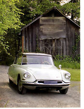 1956-1971 CITROEN DS MODELS ~ GREAT 6-PAGE ARTICLE / AD