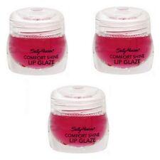 3 Sally Hansen Shine Lip Glaze 6652-35 Berry .2 oz each
