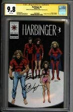 * HARBINGER #6 (1992) CGC 9.8 Signed Shooter Layton Pre-Unity (1600104005) *