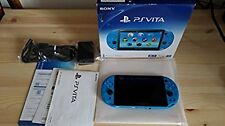 PlayStation PS Vita Wi-Fi Console Aqua Blue PCH-2000ZA23 Japan region free F/S