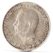 5 Kronor Silber Münze Schweden Silver Coin Sweden 1959 Gustav VI Adolf TS