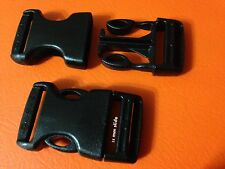 BUCKLE SIDE RELEASE 25 mm WORLD FASTEX x 2 INCLUDES POSTAGE