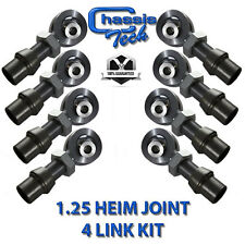 "1 1/4"" Heim Joint Kit Complete With Misalignments, Jam Nuts, and Bungs 40PCS"