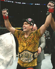 Lyoto Machida w Championship Title Belt UFC 104 8x10 Photo Picture Poster Dragon