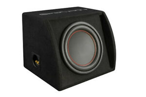 Spectron SP-RS25 Small More Affordable Bass Reflex Subwoofer Box With Much Print