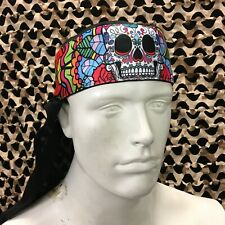 New Km Paintball Headwrap - Sugar Skull