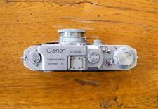 Canon Rangefinder Camera, Vintage, Serenar Lens 1:35 F=5cm