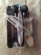 NY Yankees Ear Buds Headphones promo for WYNDHAM REWARD NIP - free USA shipping