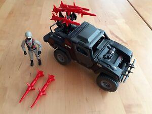 Gi Joe Action Force Vintage STINGER Night Attack 4WD 1984 Jeep COBRA 100%
