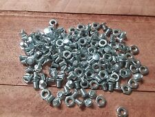 "Lot of 50 Sets Carriage Bolt & Nut Steel Plated Bolts 1/4"" x 3/8"" & Nut Set"