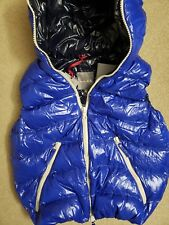 NWT Duvetica Mens Down Vest Blue EU52