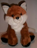 "RED FOX Plush Stuffed Animal Toy 11"" Seated Position Destination Nation Aurora"