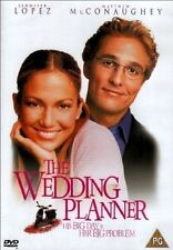 The Wedding Planner PG DVD 2001 Jennifer Lopez Matthew McConaughey