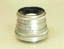 INDUSTAR-26m I-26m 2.8/5cm 50mm lens M39 Rangefinder RED P 10-blades #5404485