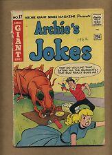 Archie Giant Series 17 (FRG) Archie's Jokes 1962 Jughead Riverdale (c#14027)