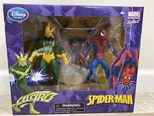 Diamond Select / Marvel Select ~ SPIDER-MAN vs. ELECTRO + 1 FREE Comic Book