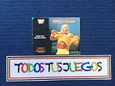 Wrestlemania NES-HN-UKV-1 Nintendo Nes