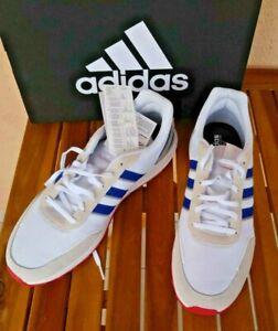 Adidas Homme baskets running Retrorunner Blanc taille 46