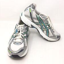 447f6446d3f Asics Gel Kanbarra 4 Women's T975N White Blue Green Athletic Shoes Size 8.5  P3A