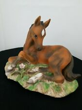 Homco 1982 Masterpiece Porcelain Horse Foal Colt Figurine Horse Collectibles