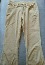 Women's LEVI STRAUSS Original Red Tab 450 Brown Cord Flare Ladies Size 27 NWOT