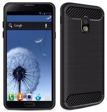 SDTEK Coque [Carbone TPU] Case Cover pour Samsung Galaxy J5 (2017)