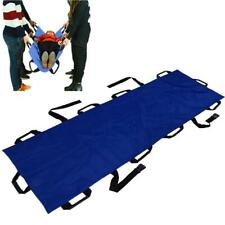 Lightweight Folding Rescue Patient Handles First Aid Stretcher Confined Space Er