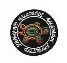 Galapagos Islands Turtles Patch Embroidered Iron on Badge Trek Souvenir Tortoise