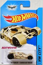 HOT WHEELS 2014 HW CITY - BATMAN THE TUMBLER - CAMOUFLAGE VERSION
