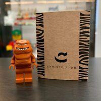 Christo Custom Pad Printed Clay Face LEGO Minifigure - LIMITED EDITION