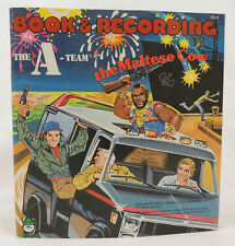 """The A Team The Maltese Cow by Peter Pan Industries 1984 Paperback &  7"""" 33 1/3"""
