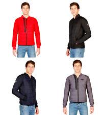 Cappotti e giacche da uomo rossi con cappucci m