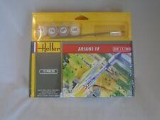 1/288 Heller Ariane Iv Unassembled Plastic Model Kit #49071 Paint Included