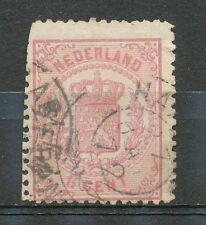 Nederland   16 B gebruikt met kleine gebreken