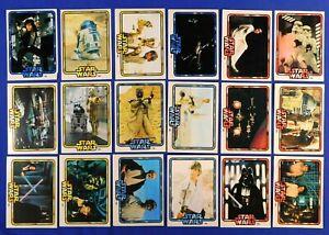 VINTAGE STAR WARS GENERAL MILLS 18 CARD SET 1978
