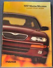 1997 Mazda Millenia Sports Sedan Catalog Sales Brochure Excellent Original 97