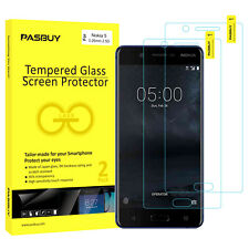 PASBUY 2 Pack 0.26mm Premium Tempered Glass Screen Protector for Nokia 5