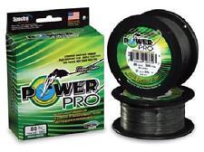 Power Pro Spectra Braid Moss Green, 15 lb 500 yards, NEW