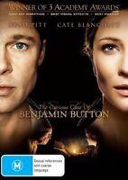 The Curious Case of Benjamin Button (DVD) 2008 Brad Pitt, Cate Blanchett - REG 4