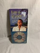 Harry Belafonte - 36 All-Time Greatest Hits 3 CD Box Set NM US RARE World Folk