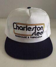 Caps By Genie Charleston Steel Warehouse Factory Baseball Hat Cap USA Snap Back