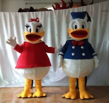 Donald Daisy Duck Mascot Costume Cosplay Adults Parade Party Fancy Dress Outfits