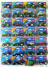 SIKU Blister Carded MINIATURE Farm TRACTORS & Agricultural MACHINERY