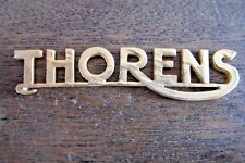THORENS BADGE FOR YOUR TD124/TD-124, TD-224, AND TD-125, TD-126
