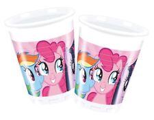 8pk My Little Pony Plastic Cups 200ml Children's Birthday Party Tableware