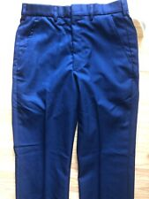 Mens NWT DSCP Military Issue Air Force Blue Trousers Pants Size 32 R Serge